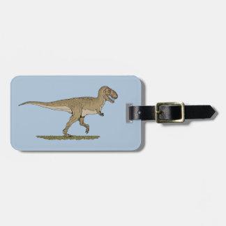 Étiquette À Bagage Rex de Tyrannosaurus
