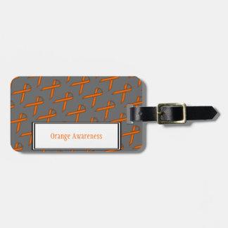 Étiquette À Bagage Ruban standard orange par Kenneth Yoncich