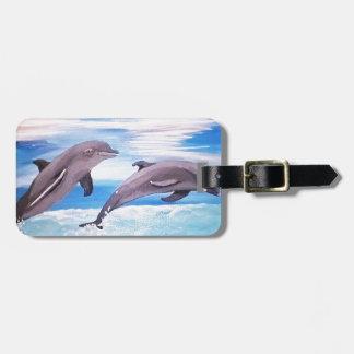 Étiquette À Bagage Saut de dauphin