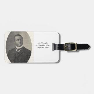 Étiquette À Bagage Scott Joplin