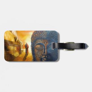 Étiquette À Bagage Seigneur Gautama Buddha