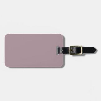 Étiquette À Bagage Seulement couleur assez solide poussiéreuse OSCB08