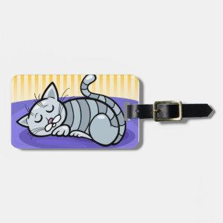 Étiquette À Bagage Sommeil Kitty