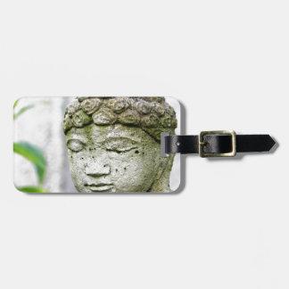 Étiquette À Bagage Statue principale de Bouddha