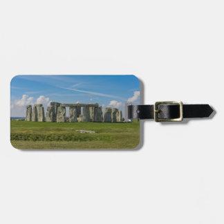 Étiquette À Bagage Stonehenge en Angleterre