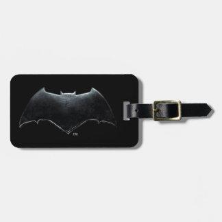 Étiquette À Bagage Symbole métallique de la ligue de justice | Batman