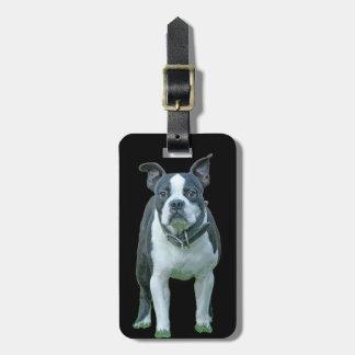 Étiquette À Bagage Terrier 1B de Boston