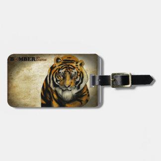 Étiquette À Bagage Tigre