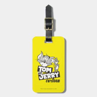 Étiquette À Bagage Tom et Jerry | Tom et bande dessinée de Jerry