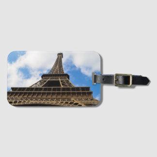 Étiquette À Bagage Tour Eiffel, étiquette de bagage de Paris