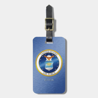 Étiquette À Bagage U.S. Étiquette de bagage de vétéran de l'Armée de