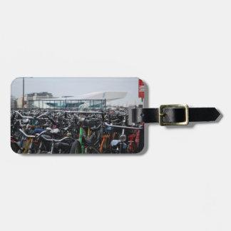 Étiquette À Bagage Vélos à Amsterdam