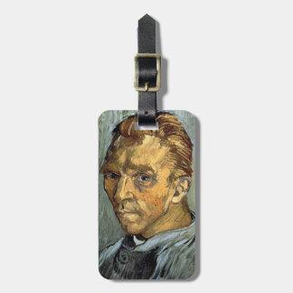Étiquette À Bagage VINCENT VAN GOGH - autoportrait sans barbe