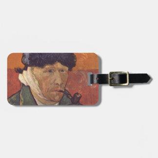 Étiquette À Bagage Vincent van Gogh - portrait d'individu avec