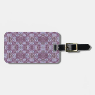 Étiquette À Bagage violet