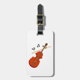 Étiquette À Bagage Violon violine de Geige
