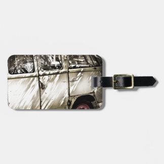 Étiquette À Bagage voiture ancienne