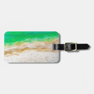 Étiquette À Bagage Vue aérienne de plage de Bondi