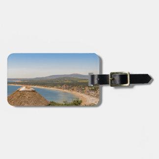 Étiquette À Bagage Vue aérienne Piriapolis Uruguay de paysage