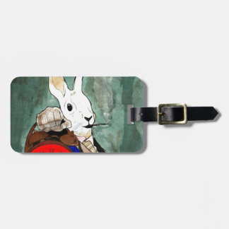 Étiquette À Bagage white rabbit