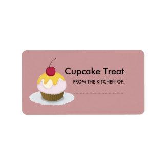 Étiquette Beau petit gâteau de bonbon à festin de Lil