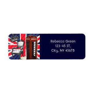 Étiquette Cric des syndicats de couronne de victorian de