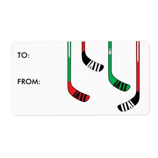 Étiquette d'autocollant d'étiquette de cadeau de