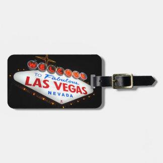 Étiquette de bagage de Las Vegas (empreinte de Étiquettes Bagages