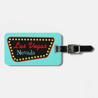 Étiquette de bagage de Las Vegas Nevada Étiquettes Bagages