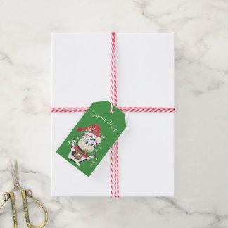 Étiquettes-cadeau Étiquette de cadeau de Joyeux Noël Snowbell