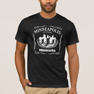 Étiquette de Minneapolis T-shirt