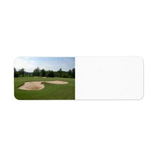 Étiquette Dessableur de golf
