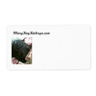 Étiquette d'expédition de Mary Kay Kendall