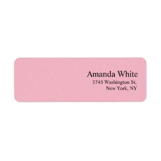 Étiquette Féminins modernes minimalistes élégants simples