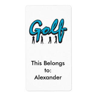 Étiquette golf