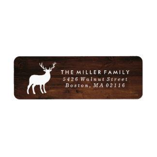 Étiquette Grain en bois et vacances blanches du mâle |