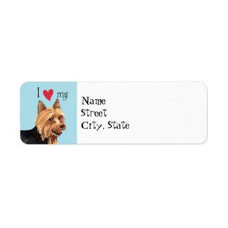 Étiquette J'aime mon Terrier australien