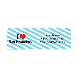 Étiquette J'aime San Francisco