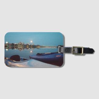 Étiquette Kayaking de bagage de clair de lune Étiquette Pour Bagages