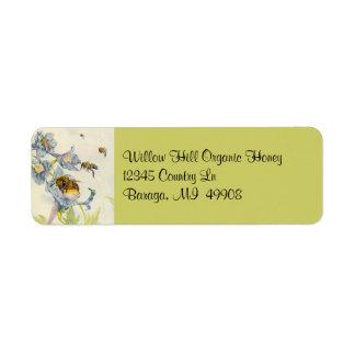Étiquette L'apiculteur de l'apiculture d'abeilles de miel