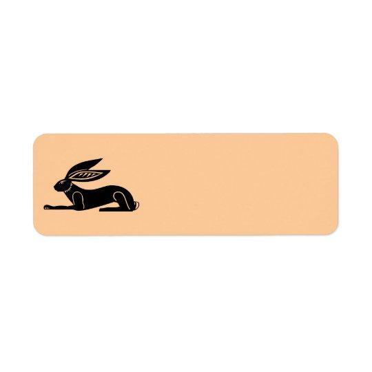 Étiquette Lapin égyptien