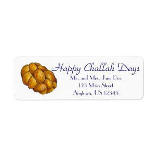 Étiquette Les jours heureux de pain du sabbat ont