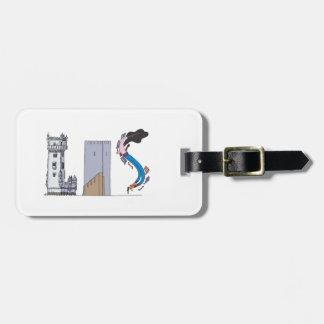 Étiquette | LISBONNE, pinte (LIS) de bagage Étiquette À Bagage