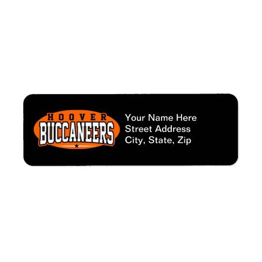 Étiquette Lycée de Hoover ; Buccaneers