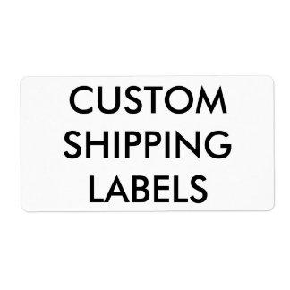 Étiquette Modèle vide personnalisé par coutume d'étiquettes