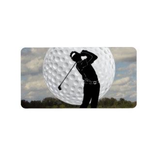 Étiquette Monde de golf