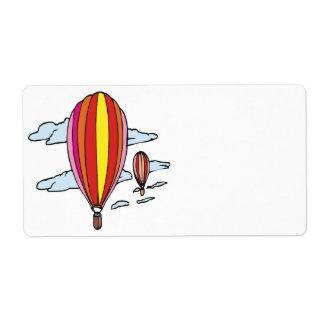 Étiquette Monter en ballon 5