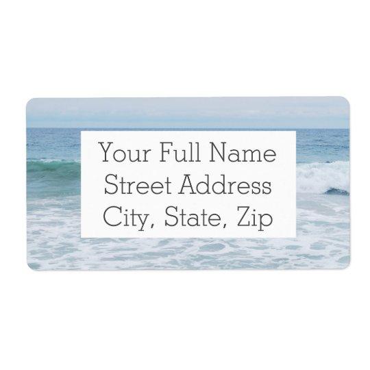 Étiquette Mouette à la plage en Californie