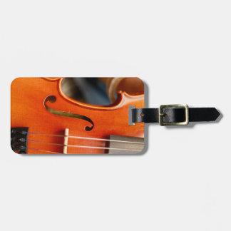 Étiquette musicale de caisse ou de bagage de étiquette à bagage