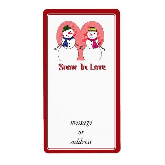 Étiquette Neige dans l'amour